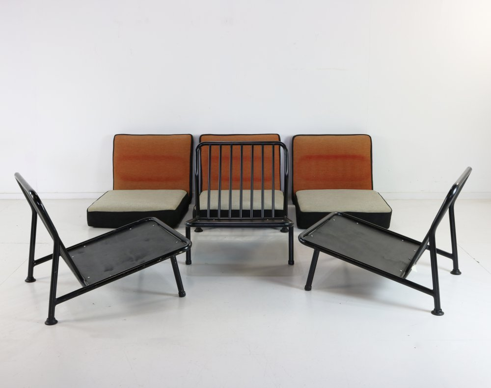 Seating lounge group by Alf Svensson for Dux Sweden
