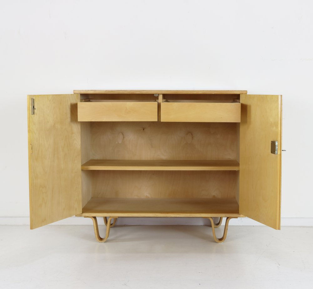 Birchwood series small cabinet by Cees Braakman for Pastoe
