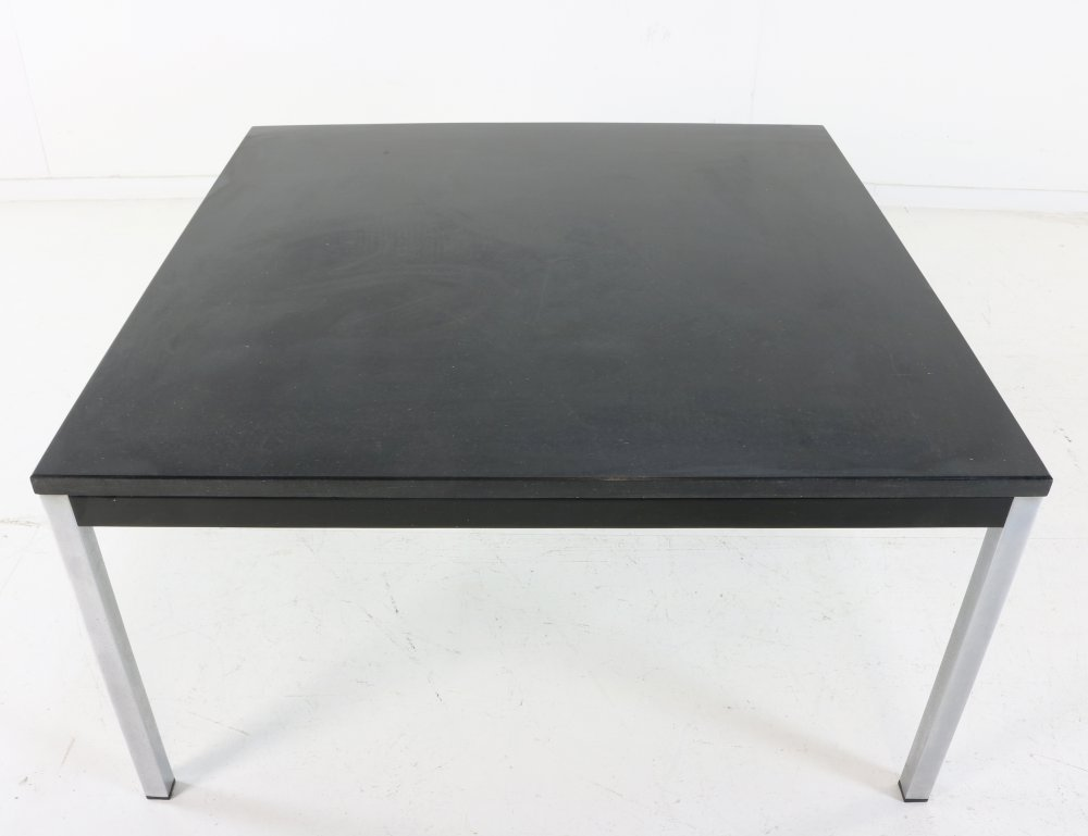 Martin Visser design coffee table with a black stone top